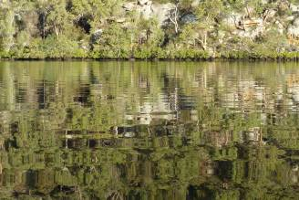 Reflections in Calabash Bay